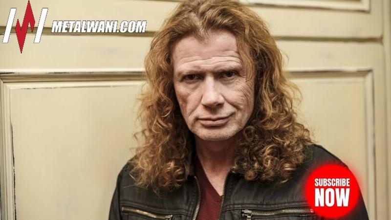 MEGADETHs Dave Mustaine on Upcoming Album, MEGACRUISE, Nick Menzas Death Tour (2019)