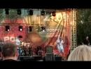 Петр Брок и Полугора на фестивале Рок яблоко