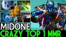 Midone [Juggernaut] Crazy Top 1 MMR Epic Game 7.19 Dota 2
