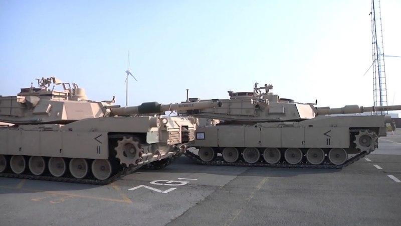 DFN 1st Armored Brigade Combat Team port operations, PORT OF ANTWERP, VAN, BELGIUM, 05.20.2018