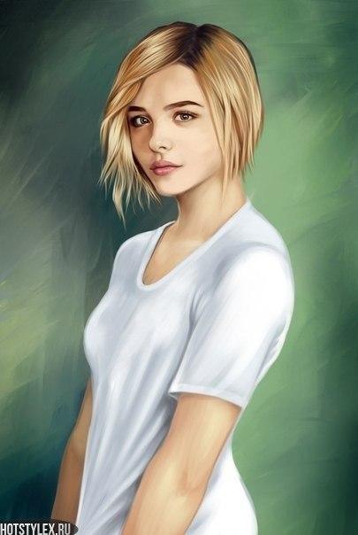 Картинки девушек на аву нарисованные