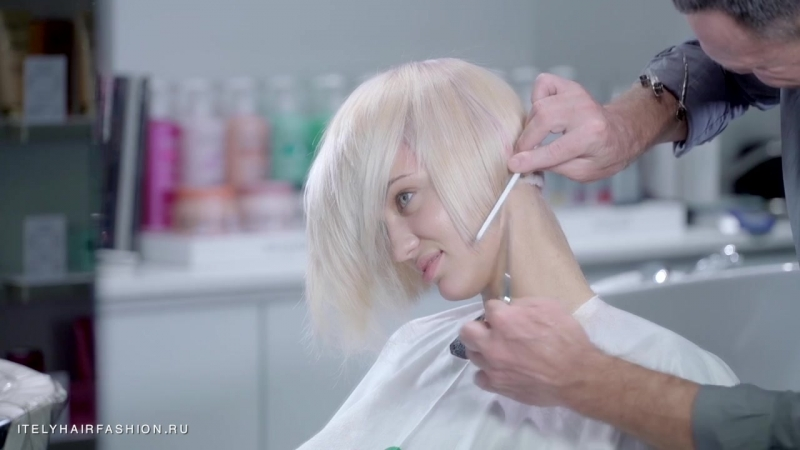 Яркий блонд с красителем Itely Hairfashion
