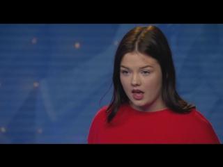 Klara Bergqvist-Valerie av Amy Winehouse.(Idol Sverige 21.08.2018.)