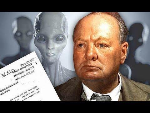 Уфологи обомлели,прочитав записки Черчилля об НЛО,теперь на них идет охота.НЛО.Очень необычные факты
