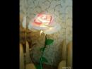 светильник роза ЗЕФИРКА