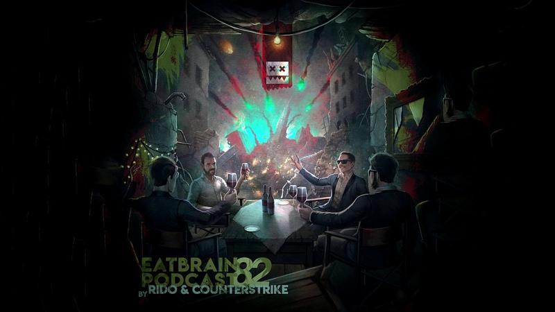 EATBRAIN Podcast 082 by RIDO COUNTERSTRIKE [Neurofunk Drum Bass Mix]