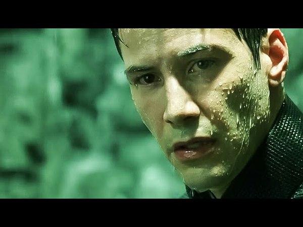 Это мой выбор Агент Смит против Нео Финальная битва Матрица Революция 2003 The Matrix Revolutions