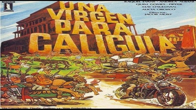 Una Virgen Para Caligula (Jacob Most 1985)Raquel evans quin gomes andrea albani pipper alicia orozco