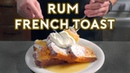 Binging with Babish Rum French Toast from Mad Men