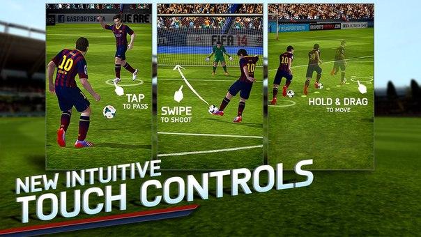 Скачать FIFA 14 by EA SPORTS™ (FULL) для android