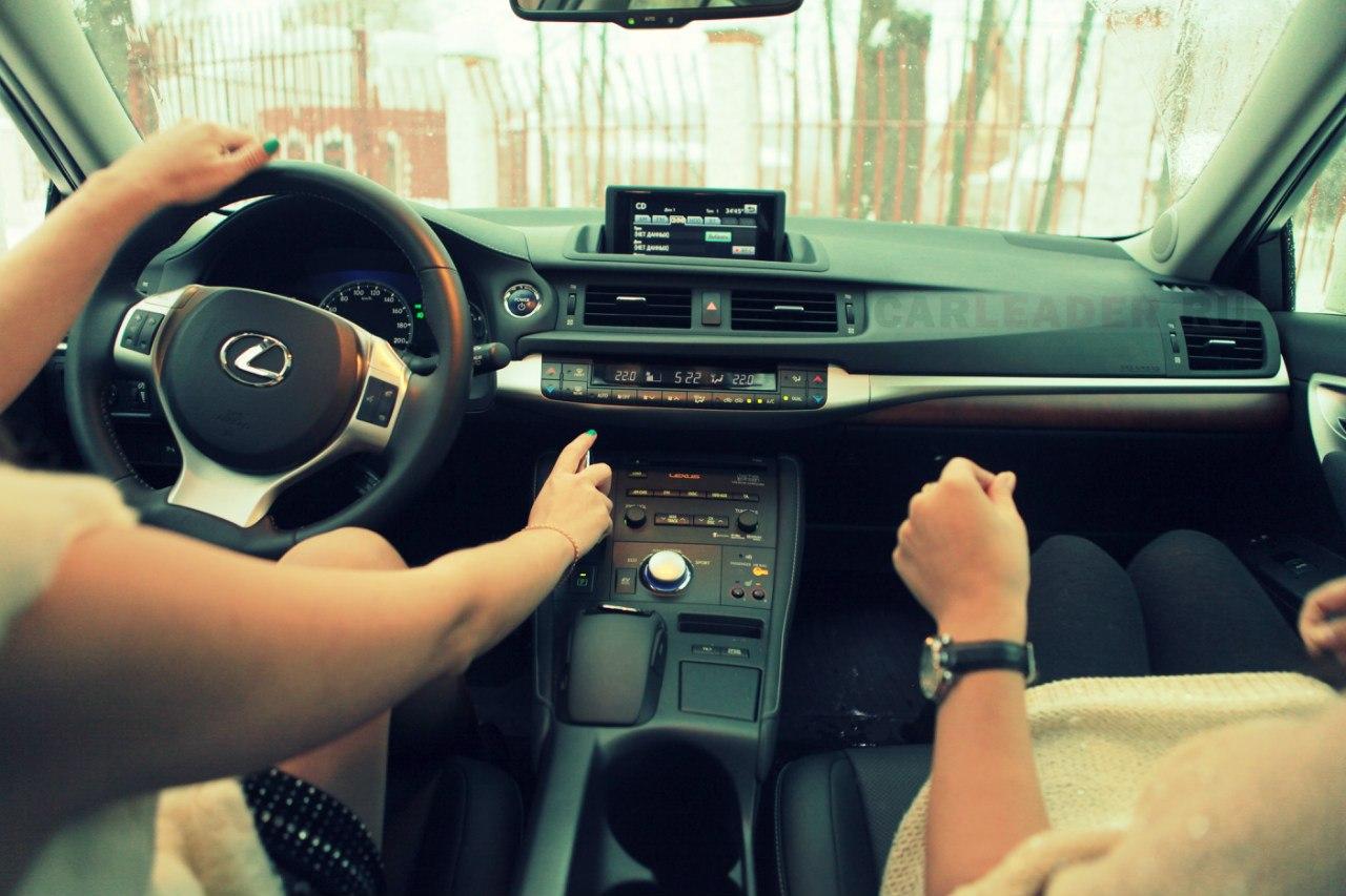 Салон Lexus CT