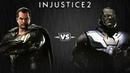 Injustice 2 - Чёрный Адам против Дарксайда - Intros Clashes (rus)