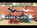 Nainowale ne movie padmawat belly dance Manisha singh choreography