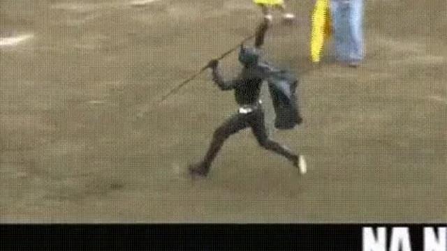 Бэтмен против быка