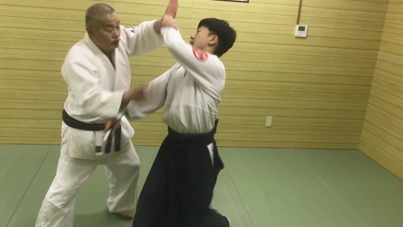 AIKIDO KIMURA JIRO 8th DAN 2018 大阪武育会 体捌き稽古