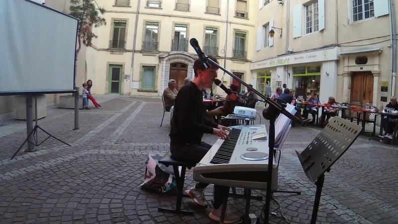 Clément Bousquet en live Yesterday The Beatles