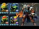 Черепашки Ниндзя Легенды ГОРОДСКАЯ ВОЙНА СВЕТ В ТЕМНОТЕ ИСПЫТАНИЕ игра Мультфильм TMNT Legends