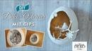 DIY Osterdeko mit Ostereiern aus Gips selber machen Deko Kitchen