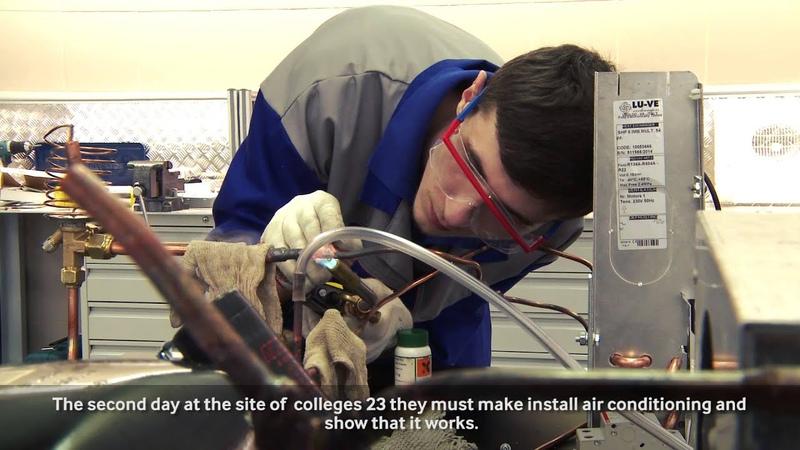 World Skills Russia. Кондиционирование воздуха и холодильные машины.