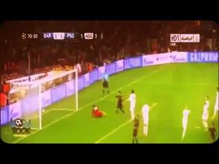Барселона - ПСЖ 1-1 Обзор Матча ЛЧ (10.04.2013)