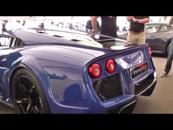 NEW Noble M600 | Track Flybys | Revs | Accelerations | Driving at Goodwood