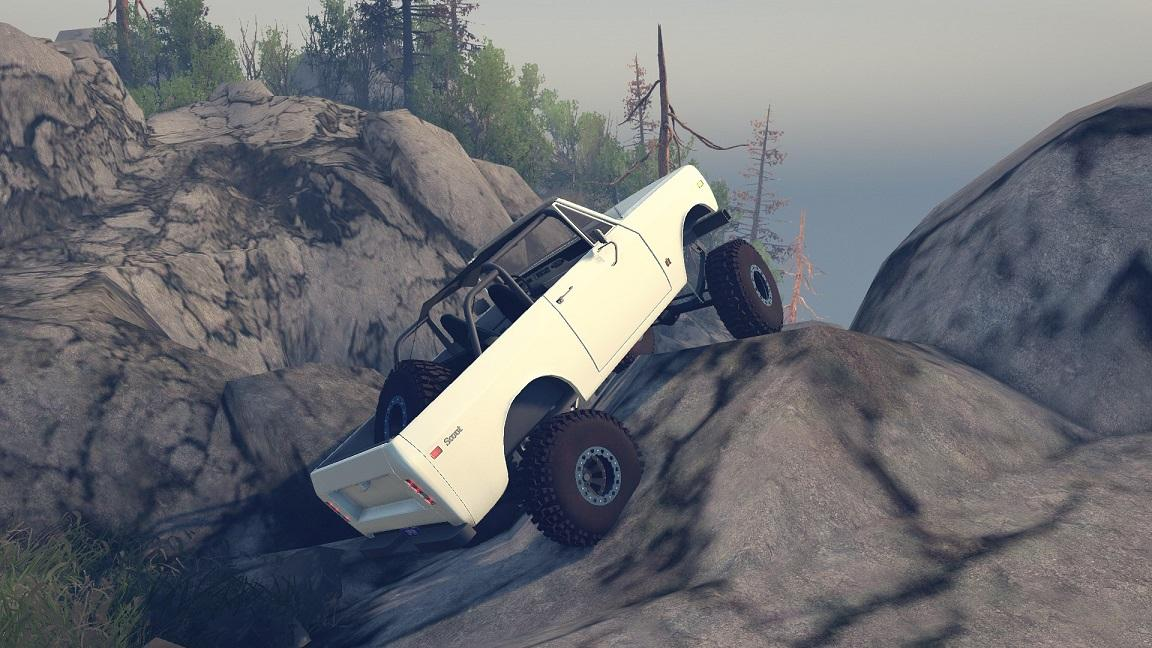 SID 1977 International Scout II Open Top 1.0 для Spintires - Скриншот 1