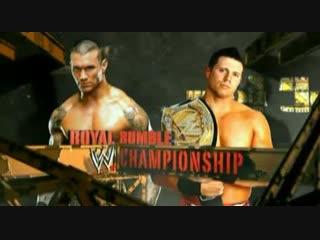 Wrestling Online - The Miz vs Randy Orton - Royal Rumble 2011 (Стрим #54)
