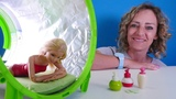 Spielspa mit Barbie - Nicoles SPA Salon - Spielzeugvideo fr Kinder