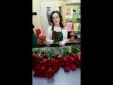 Букет из цветных роз (93шт)