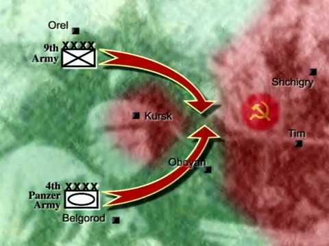1943 год Битва на Курской дуге ..Как данную битву представляют американцы