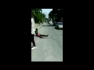 Black Man Incapacitated, Incapable of Hiding Massive Boner