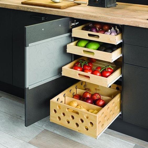 Идеи для кухни - экономим пространство!