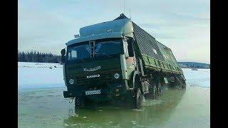 Экстремальные ДОРОГИ СЕВЕРА ЗИМНИК бездорожье крайнего севера России Truckers Extreme offroad North