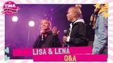 Lisa &amp Lena - Q&ampA Tina Festival 2018 TinaTV