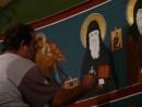 В монастыре Русского Джона. Халкидики. Греция.(2008)