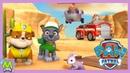 Щенячий Патруль Новые Приключения в Игре Paw Patrol On A Roll Миссия Крепыша и Рокки
