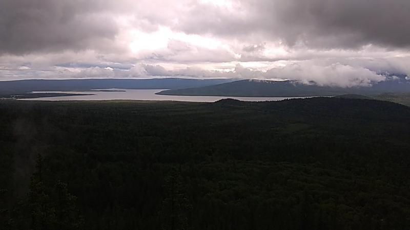 Гора Голая Сопка, хребет Зюраткуль.