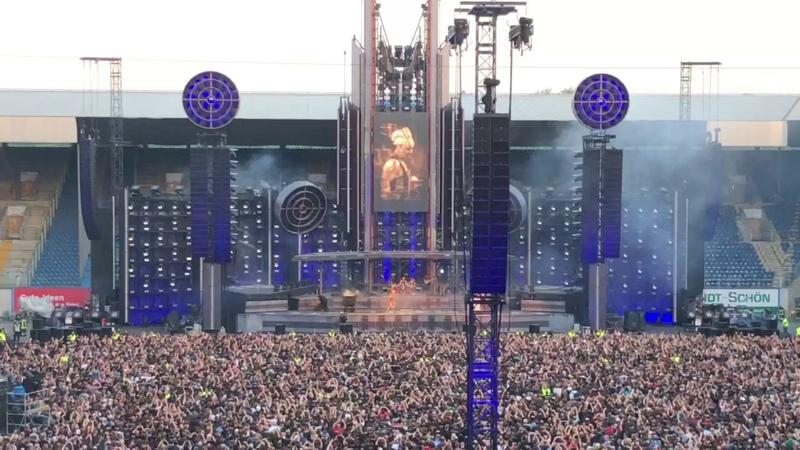 Rammstein - Mein Teil - Live in Rostock, Europa Stadium Tour 2019