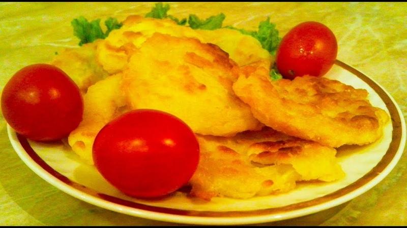 Оладьи из кабачков   Самый легкий и простой рецепт   Оладьи с хрустящей корочкой и сочной мякотью