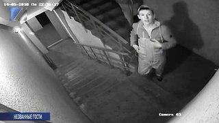Вандалы попались на камеру видеонаблюдения