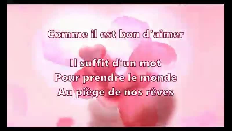 Jean Pierre Siméon 💕Comme il est bon d'aimer 💕