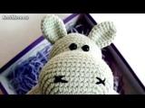 Амигуруми схема Бегемотика. Игрушки вязанные крючком. Free crochet patterns. Free crochet patterns.