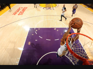 Данк Деррика Роуза против Los Angeles Lakers 07.11.2018 (Derrick Rose, dunk)