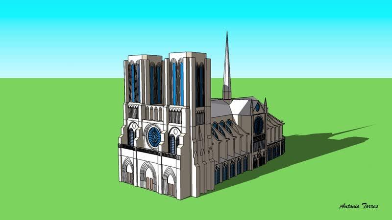 Собор Нотр Дам Antonio Torres Catedral de Notre Dame
