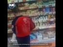 В Уфе мужчина хотел похитить из супермаркета сыр