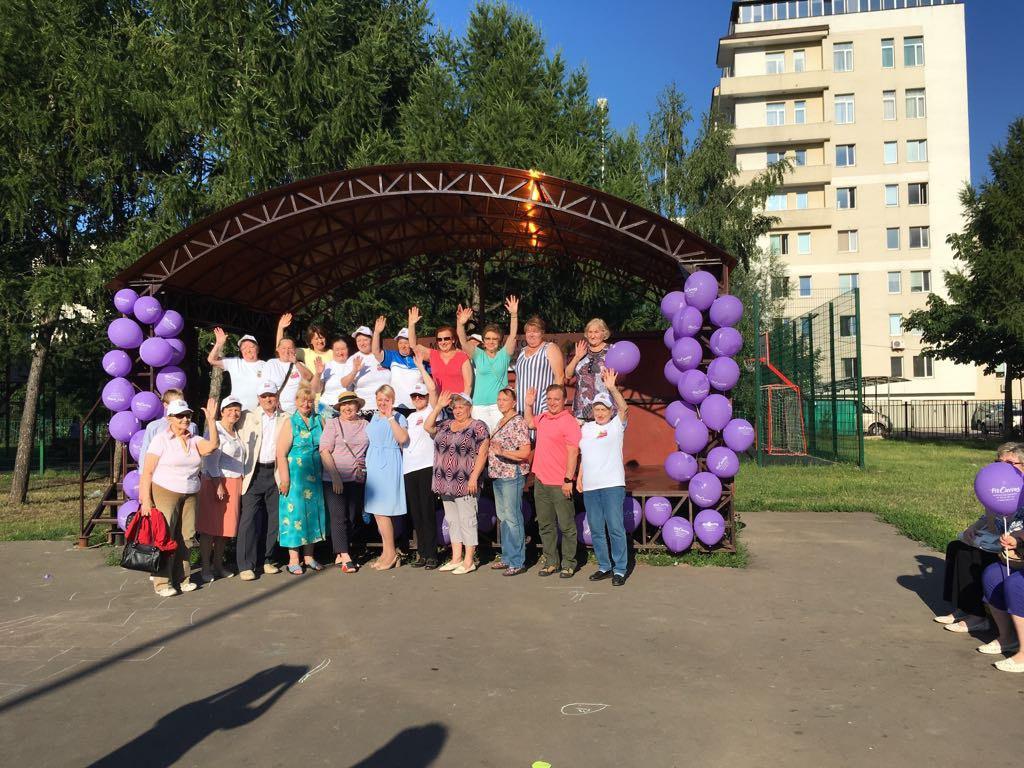 Открытые уроки по фитнесу и танцам для жителей старшего возраста прошли на Алтуфьевском шоссе
