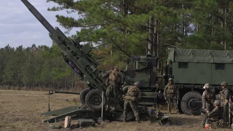 6th Marines RFEX- Raining Steel CAMP LEJEUNE, NC, UNITED STATES 03.12.2018