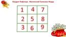 Магические квадраты Для быстрого получения денег здоровья удачи