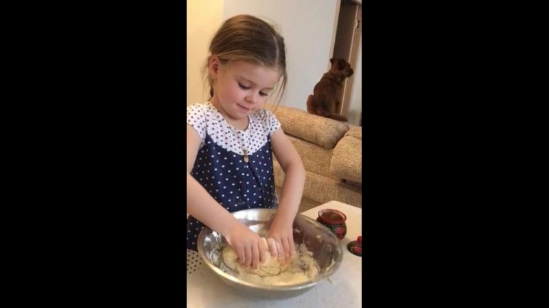 Освоение азов кулинарии