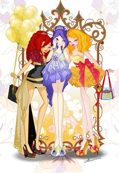 """Журнал """"Winx club"""" для вас друзья!"""